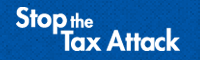 Stop the Tax Attack Logo